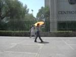 A bright spot on the promenade at Centro Medico