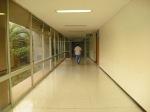 Hallway to the ICU unit.
